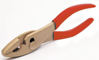 Non-sparking combination pliers